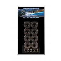 Подшипники для роликовых коньков Maxcity Abec 7, 8 штук