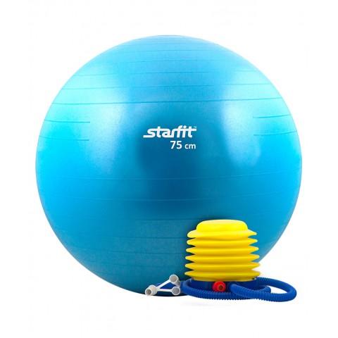 Мяч гимнастический StarFit GB-102 75 см с насосом