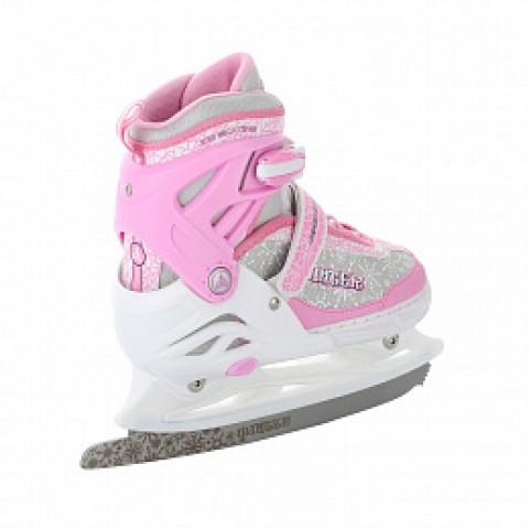 Коньки раздвижные Alpha Caprice Winter pink