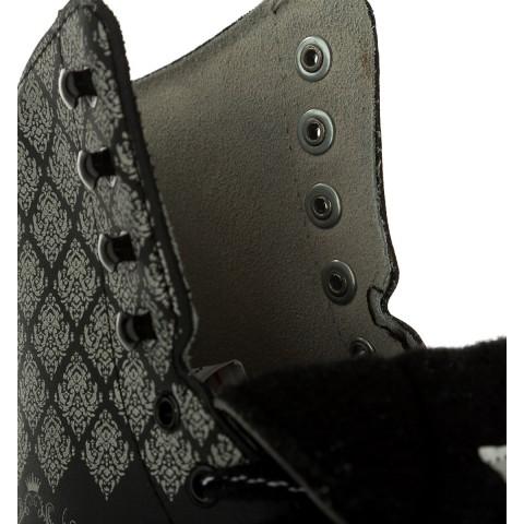 Фигурные коньки СК (Спортивная коллекция) Fashion Lux Black (взрослые)
