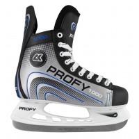 Хоккейные коньки СК PROFY LUX 1000 синий