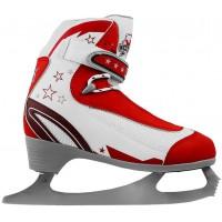Фигурные коньки СК Молодежка Mfs Red  (взрослые)