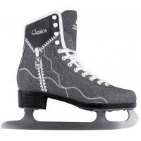 Фигурные коньки (прогулочные) СК Fashion Lux Jeans Black