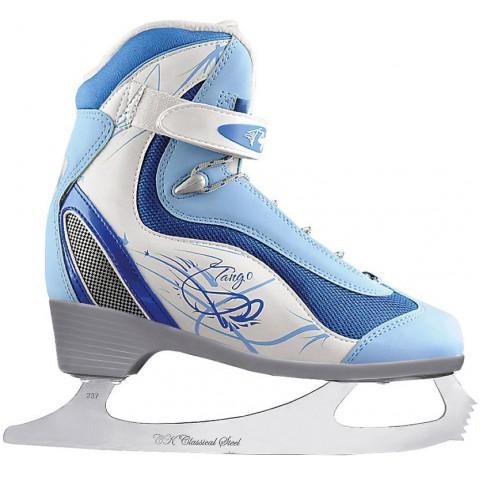 Прогулочные коньки (фигурные) СК Tango Blue (взрослые)