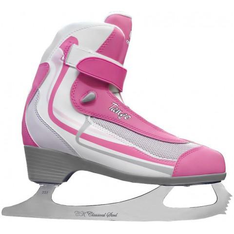 Прогулочные  коньки (фигурные) СК Tango  Pink  (взрослые)