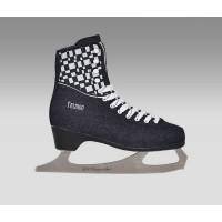 Фигурные коньки СК (Спортивная коллекция) Fashion Jeans Blue (взрослые)