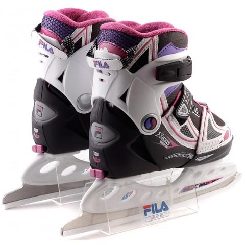 Детские коньки раздвижные FILA X-ONE ICE Girl (2015)