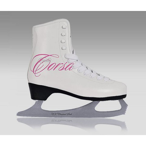 Фигурные коньки СК Ladies Lux Corso Fur pink (взрослые)