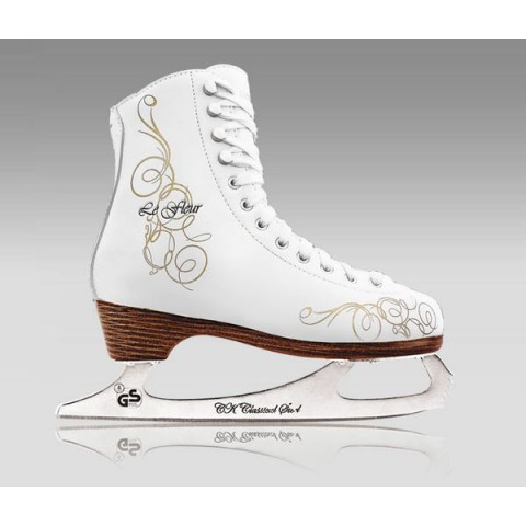 Фигурные коньки СК Le Fleur 50/50% Leather (взрослые)