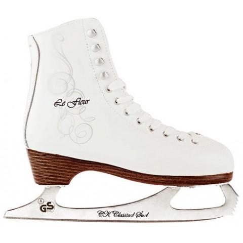 Фигурные коньки СК Le Fleur 100% Leather (взрослые)