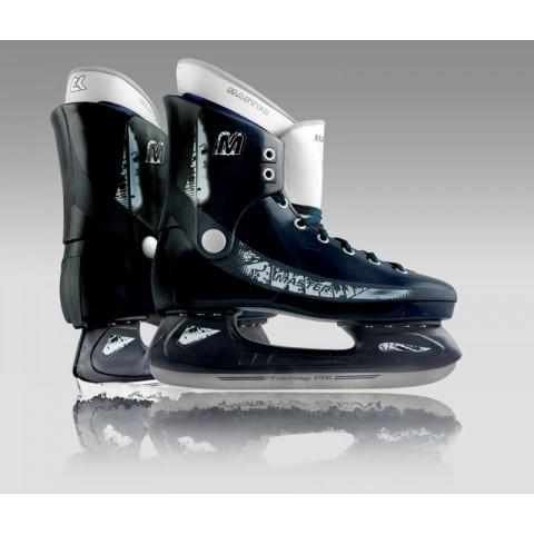 Пластиковые хоккейные коньки СК Master Delux (2012, взрослые)