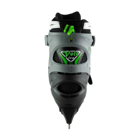Коньки и ролики 2 в 1 MaxCity Volt Ice green