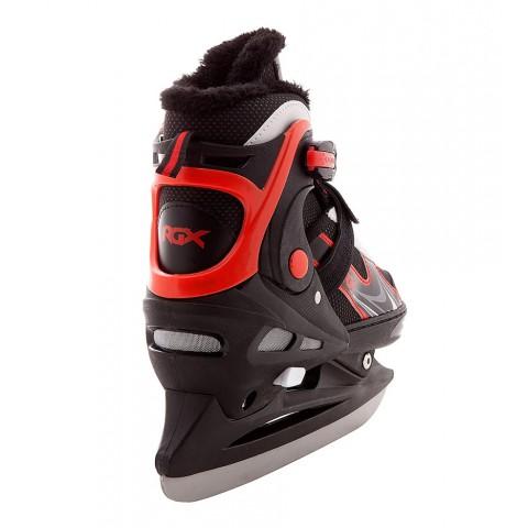 Детские коньки раздвижные RGX Freedom red