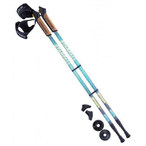 Палки для скандинавской ходьбы Berger Starfall 77-135 см синий