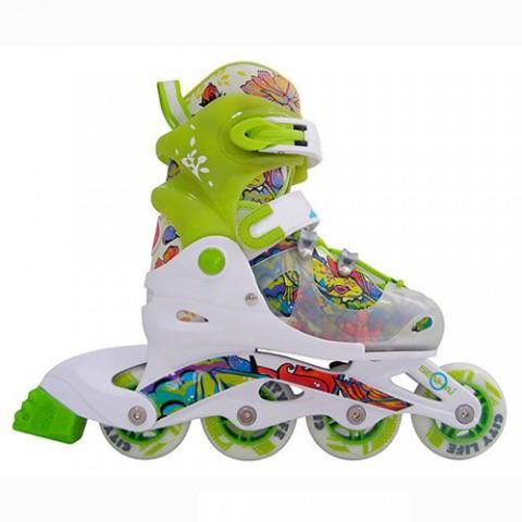 Роликовые коньки детские (раздвижные) Action PW-610