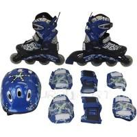 Роликовые коньки детские (раздвижные) Action PW-780