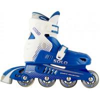 Роликовые коньки детские (раздвижные) СК  Solo blue
