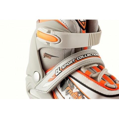 Роликовые коньки детские раздвижные СК Fresh orange