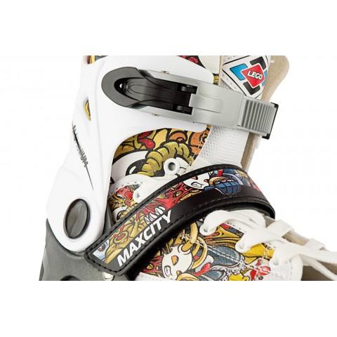 Роликовые коньки детские (раздвижные) MAXCITY Lego multy