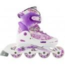 Роликовые коньки детские раздвижные MAXCITY Leon 64 mm violet