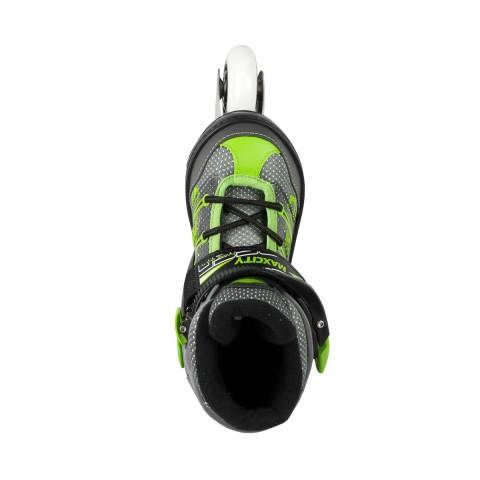 Роликовые коньки MaxCity Punto 70 mm green