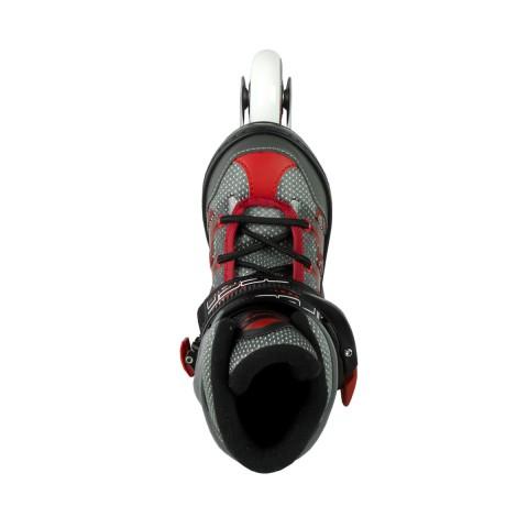 Роликовые коньки MaxCity Punto 70 mm red