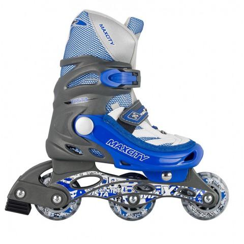 Роликовые коньки детские раздвижные MAXCITY Vista blue