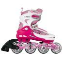 Роликовые коньки детские раздвижные MAXCITY Symbol pink