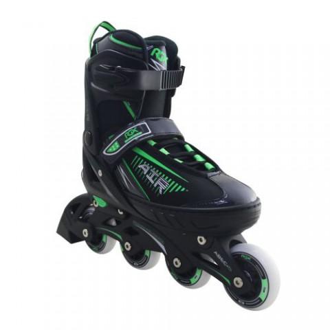 Роликовые коньки раздвижные RGX Air Green