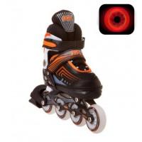 Роликовые коньки раздвижные RGX Atom Orange