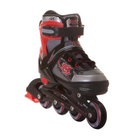 Роликовые коньки раздвижные RGX Braman Red