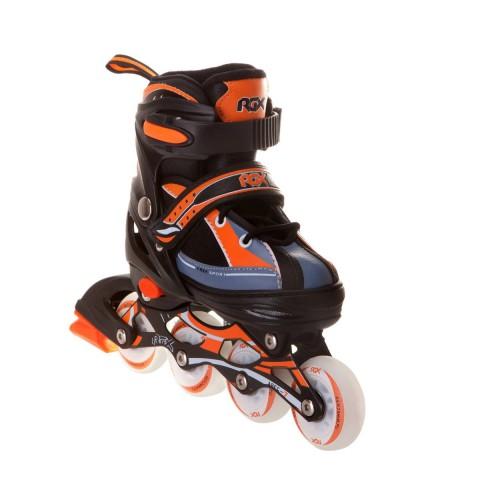 Роликовые коньки раздвижные RGX Fantom Orange