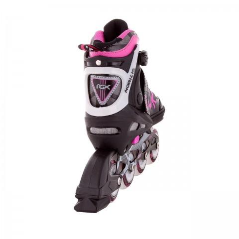 Роликовые коньки раздвижные RGX Mobilis Pink