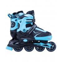 Роликовые коньки детские раздвижные Ridex Area Blue
