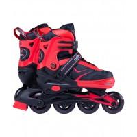 Роликовые коньки детские раздвижные Ridex Area red