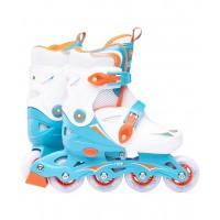 Роликовые коньки детские раздвижные Ridex Cricket Blue