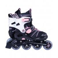 Роликовые коньки детские раздвижные Ridex Halo Pink