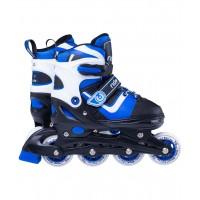 Роликовые коньки детские раздвижные Ridex Joker Blue