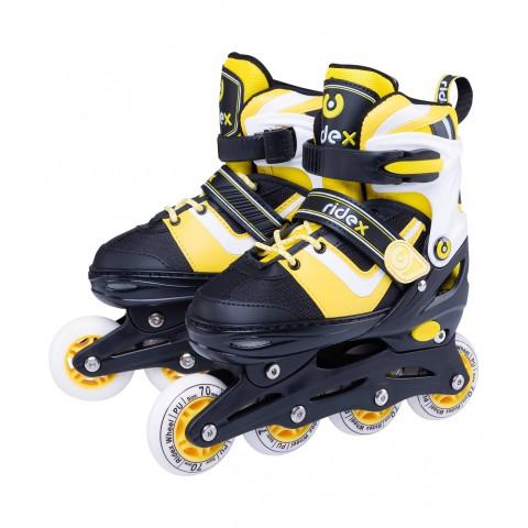 Роликовые коньки детские раздвижные Ridex Joker Yellow