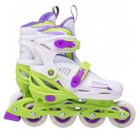 Роликовые коньки детские раздвижные Ridex Cricket Green