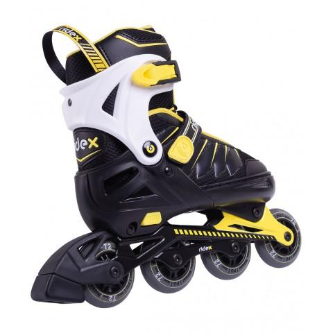 Роликовые коньки детские раздвижные Ridex Eagle Yellow