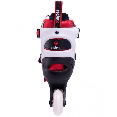 Роликовые коньки детские раздвижные Ridex Joker Red