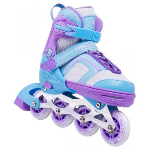 Роликовые коньки детские раздвижные Ridex Tilly Light