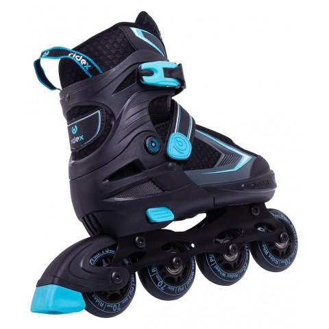 Роликовые коньки детские раздвижные Ridex Tron Blue