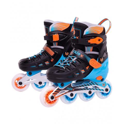 Роликовые коньки детские раздвижные Ridex Twist Orange