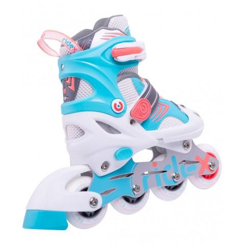 Роликовые коньки детские раздвижные Ridex Swift Coral