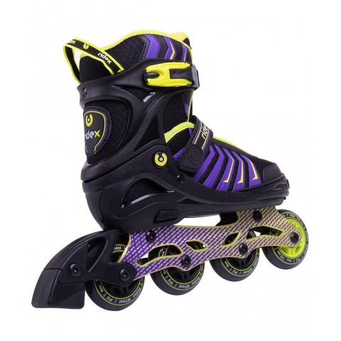Роликовые коньки детские раздвижные Ridex Thanos Lime