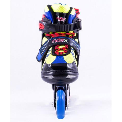 Роликовые коньки детские раздвижные Ridex Flash