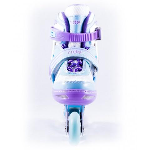 Роликовые коньки детские раздвижные Ridex Sweety