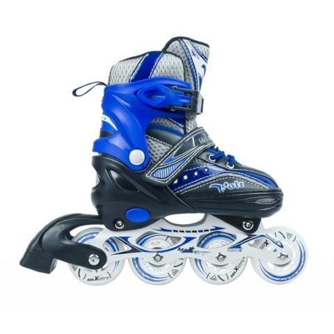 Роликовые коньки детские (раздвижные) MAXCITY VOLT combo blue